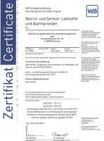 Zertifikat vds-3138ap
