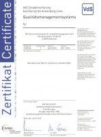 Zertifikat vds-qm